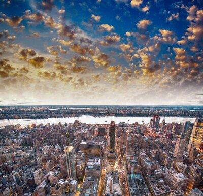 Фотообои Современный город небоскребов и небоскребов