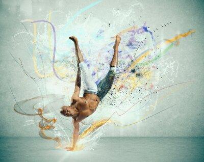 Фотообои Современные танцор