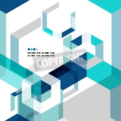 Фотообои Современный геометрический абстрактный шаблон вектор
