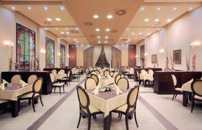 Фотообои Современный интерьер ресторана в отеле