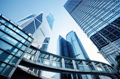 Фотообои Современные офисные здания в Гонконге.