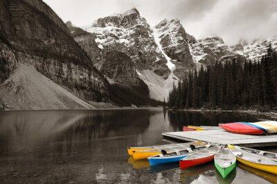 Фотообои Морейн лодка
