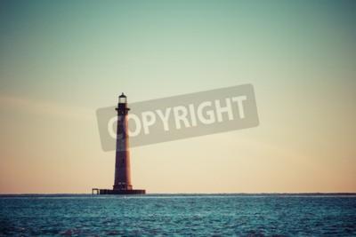 Фотообои Моррис Айленд Маяк на рассвете, Южная Каролина, США