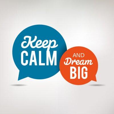 Фотообои Motivation Quote - Keep Calm