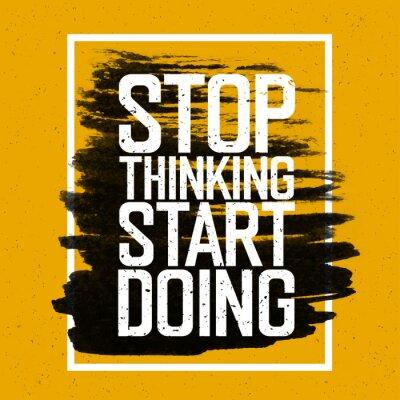 Фотообои Мотивационный плакат с надписью