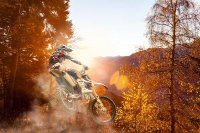 Фотообои motocross at sunset