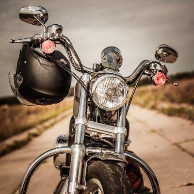 Фотообои Мотоцикл на дороге