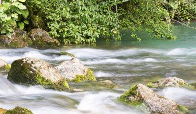 Фотообои Очистите речные потоки в горах Абхазии.