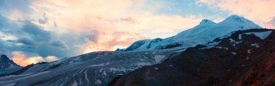 Фотообои Горный закат зима панорамы