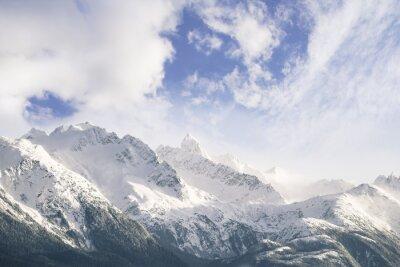 Фотообои Горы и облака