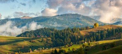 Фотообои Горы в облаках