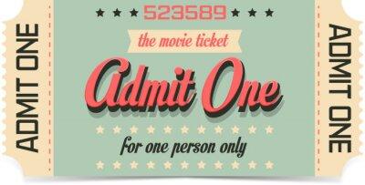 Фотообои Билет в кино