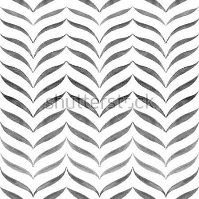 Фотообои Абстрактный черный белый фон. Шаблон бесшовные векторные шаблоны.