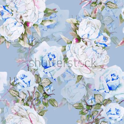 Фотообои Пионы и розы