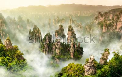 Фотообои Гора горы Чжанцзяцзе в Вулиньюань Хунань Китай
