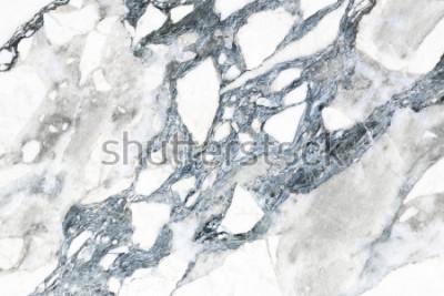 Фотообои Белая мраморная текстура с естественным рисунком для фона