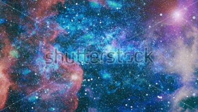 Фотообои планеты, звезды и галактики в космосе, показывающие красоту освоения космоса. Элементы, предоставленные НАСА