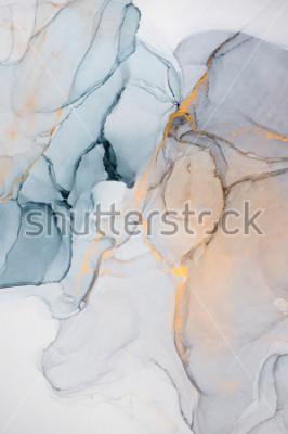 Фотообои Чернила, краски, абстракция. Крупным планом картины. Красочная абстрактная живопись фон. Высокотекстурированная масляная краска. Высокое качество деталей.