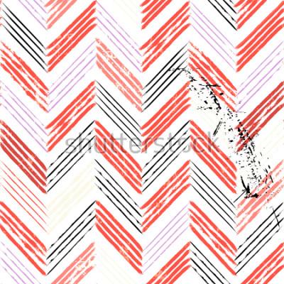 Фотообои абстрактный фон, с ударами и брызгами, бесшовные зигзагообразным узором