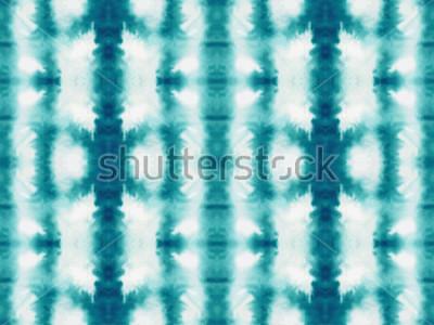 Фотообои Вектор галстук краситель бесшовные модели. Ручной обращается шибори принт. Текстурированные чернила японский фон. Современная плитка батик обои. Акварель бесконечный фон.