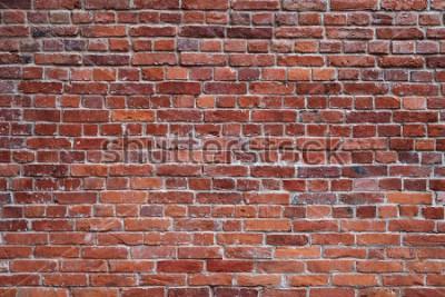 Фотообои старая красная кирпичная стена текстура фон
