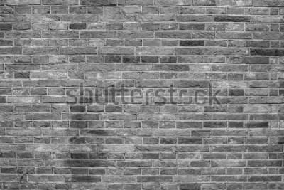 Фотообои Серая текстура кирпичной стены.