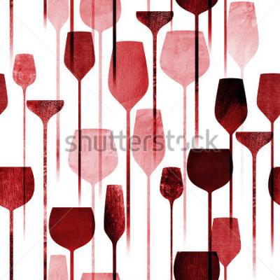 Фотообои Текстурированная бумажная партия искусства коллажа выпивает безшовную картину, схематический красочный спирт выпивает повторять предпосылку для сети и печатает цель.