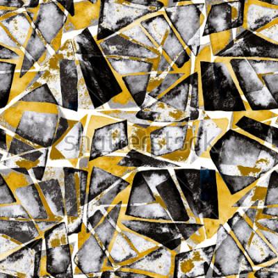 Фотообои Геометрический рисунок. Абстрактная акварель текстуры в современном стиле.