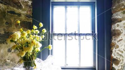 Фотообои Цветы возле окна