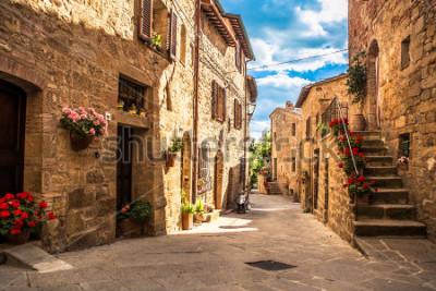 Фотообои streets of Italian city, Tuscany, Italy