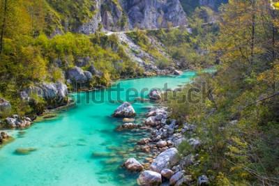 Фотообои Река Сока в Словении, Европе