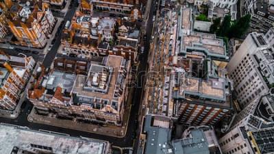 Фотообои Дрон Фото Лондон, Mayfair.