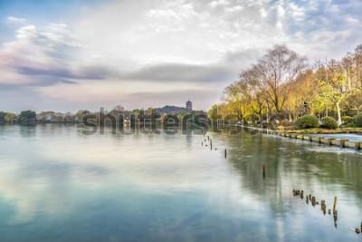 Фотообои Пейзажи западного озера