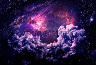 Фотообои Dreamscape Galaxy - элементы этого изображения предоставлены НАСА