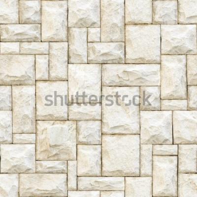 Фотообои Безшовная бежевая каменистая поверхностная предпосылка.