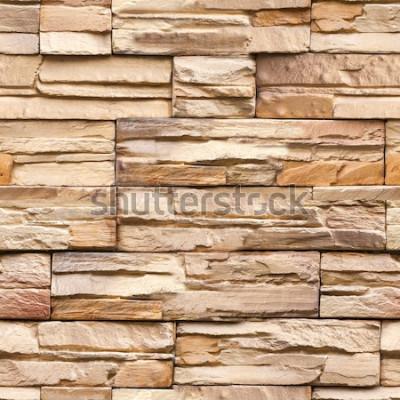 Фотообои Бесшовные каменная стена, текстура и фон