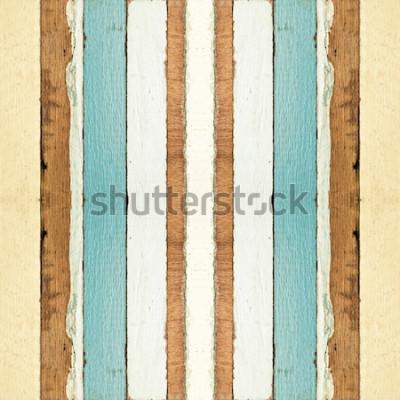 Фотообои Красочная безшовная старая деревянная текстура планок, можно использовать для предпосылки