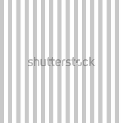 Фотообои Узор полоса бесшовные серого и белого цветов. Вертикальный узор полосой абстрактный фон вектор.