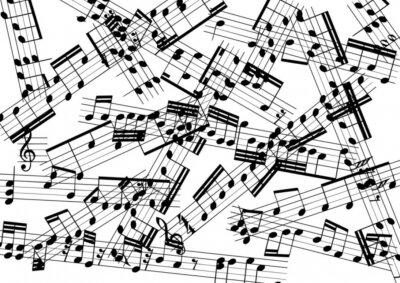 Фотообои музыка