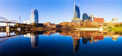 Фотообои Nashvillle Skyline, штат Теннесси, США