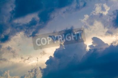Фотообои Естественный фон неба и облаков