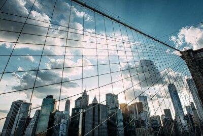 Фотообои Нью-Йорк, Бруклинский мост,