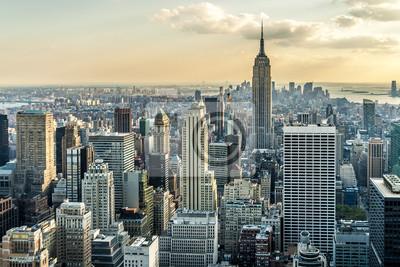 Фотообои New York City Aerial View