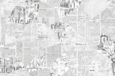 Фотообои Newspaper paper grunge vintage old aged texture background