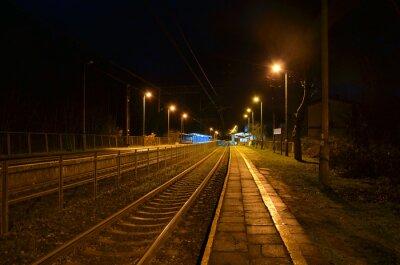 Фотообои Ночной вокзал