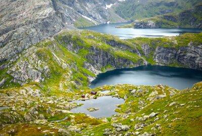 Фотообои Северная Норвегия пейзажи. Лофотенские острова