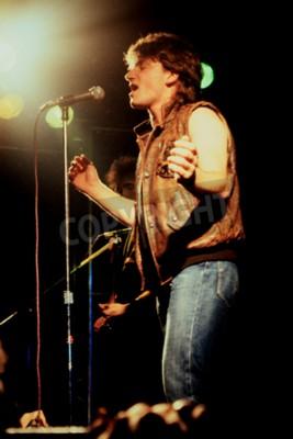 Фотообои Норидж, Англия, 1 октября 1981 г. - U2 концерт в UEA