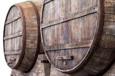 Фотообои Дубовые бочки в Виннице, пивоварни или спиртзавода