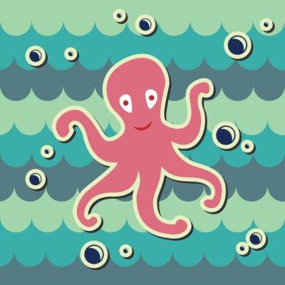 Фотообои осьминог