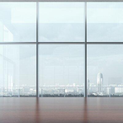 Фотообои Офисный стол и окна
